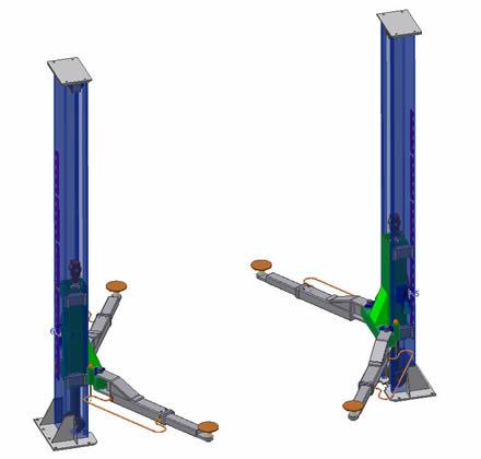 Car Lift - Machine Design Services INBIURO