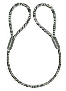 Steel wire rope slings and their components